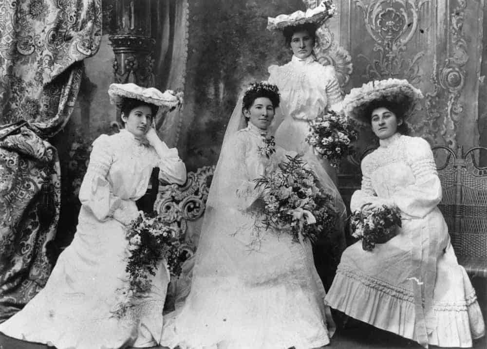 Clearwell Castle - 1910 Bridesmaids
