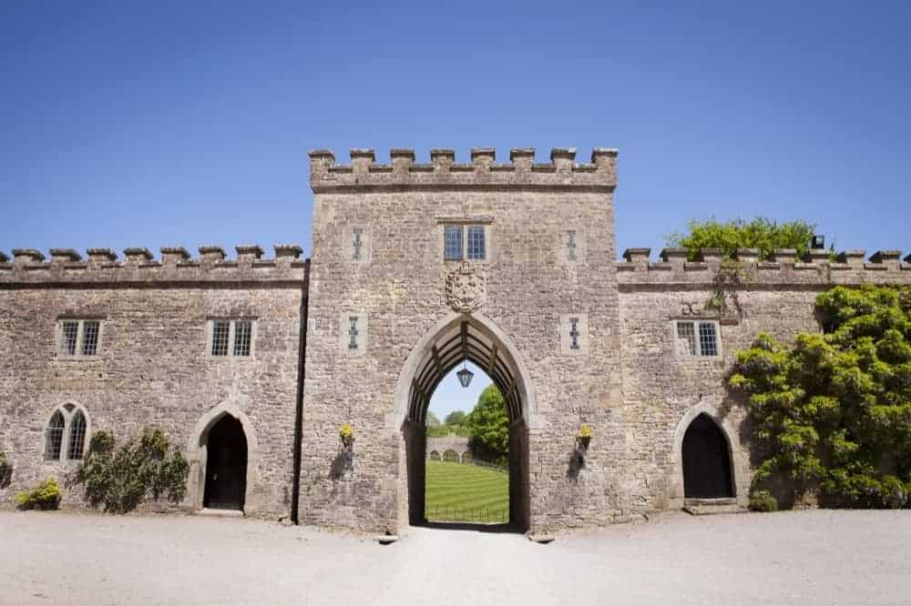 Clearwell Castle - Portcullis View