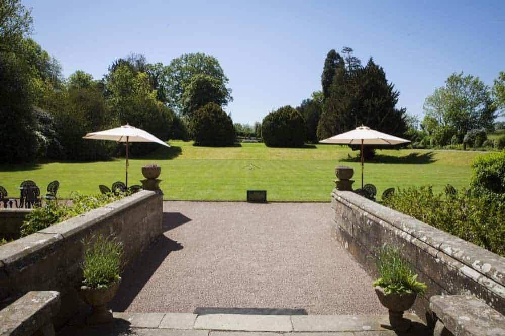 Clearwell Castle - Croquet Lawn