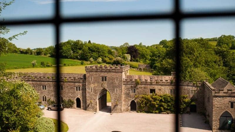 Clearwell Castle Entrance